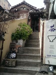 階段が最後の難関!