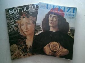 当時からボッティチェリ好きで旅行では画集を買い漁っていた…